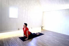Tina Pettersson startade Yogakurser